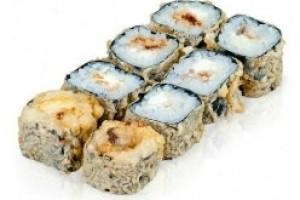 Горячий ролл Mini темпура с лососем