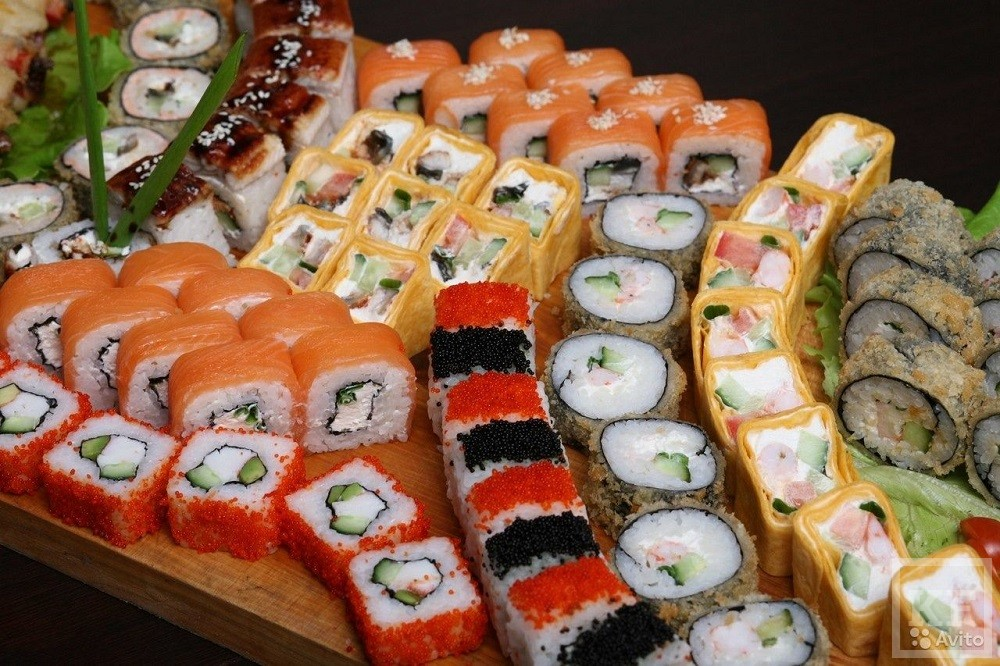 этой части виды суши и роллов фото успехом